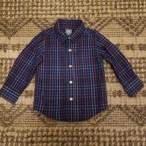 Beautiful babyGAP boys dress shirt. Size 2